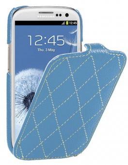 Vetti Craft Slimflip Diamond Series (SGY93SFDS110102) - чехол для Samsung Galaxy S3 (Blue)