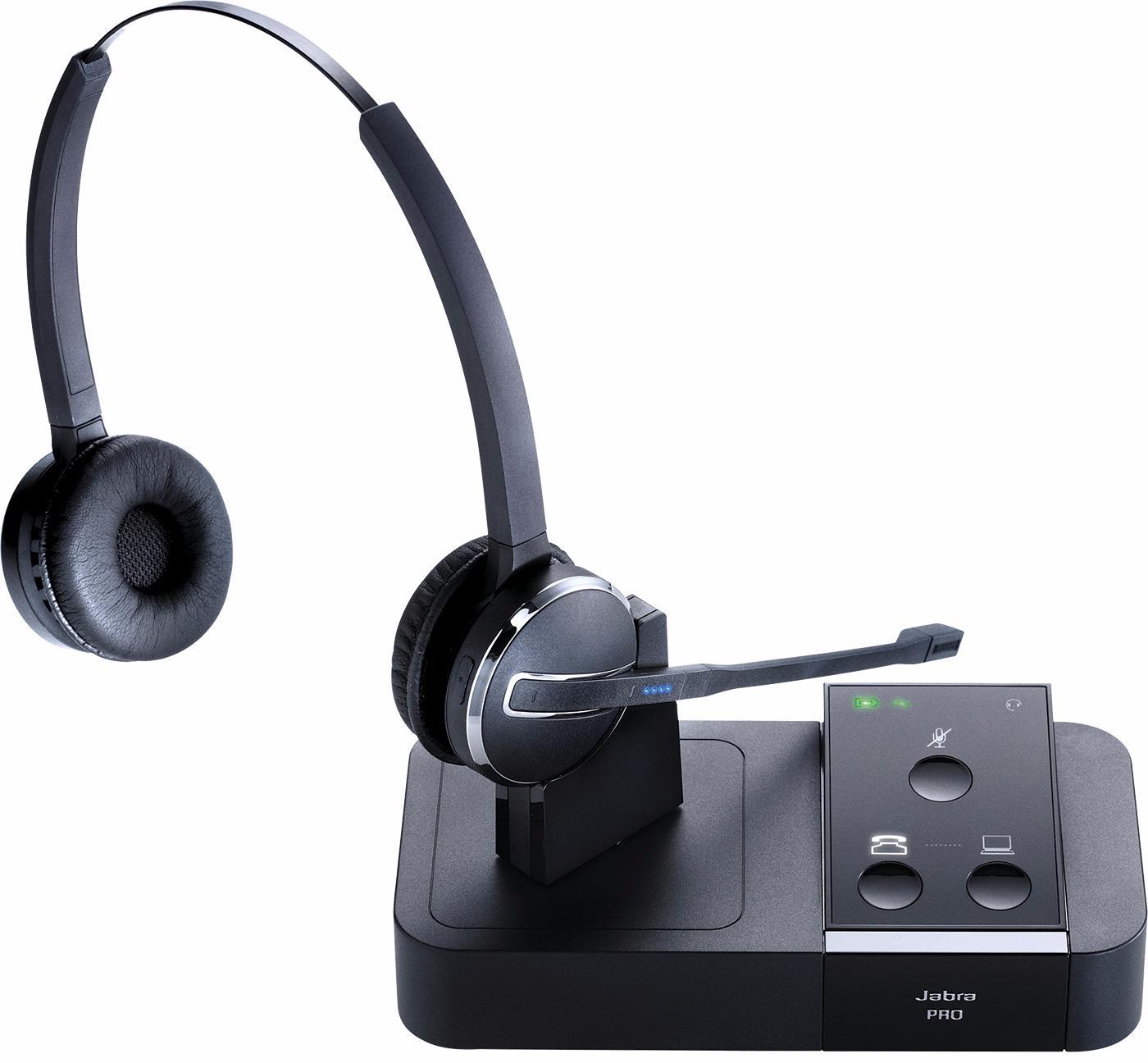 DECT-гарнитура Jabra Pro 9450 Duo (Black)