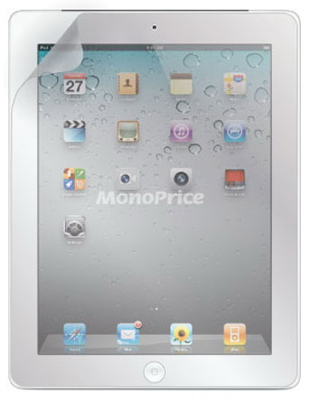 Monoprice Screen Protective Film w/ Matte Finish - матовая защитная пленка для iPad 2 / iPad 3