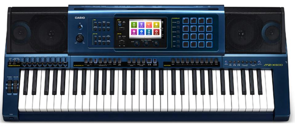 Casio MZ-X500 (A062353) - синтезатор (Dark blue)
