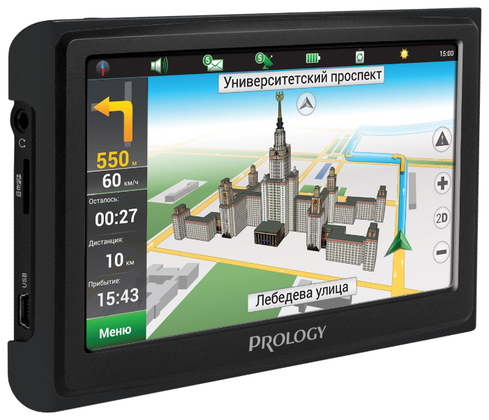 Prology iMap-4300 - автомобильный навигатор (Black)
