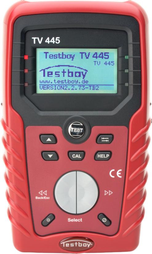 Testboy TV445 - инсталяционный тестер (Red)