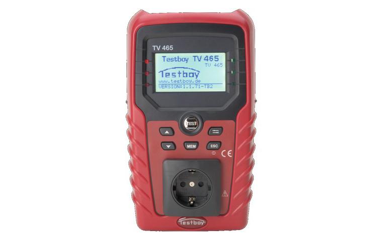 Testboy TV465 - инсталяционный тестер