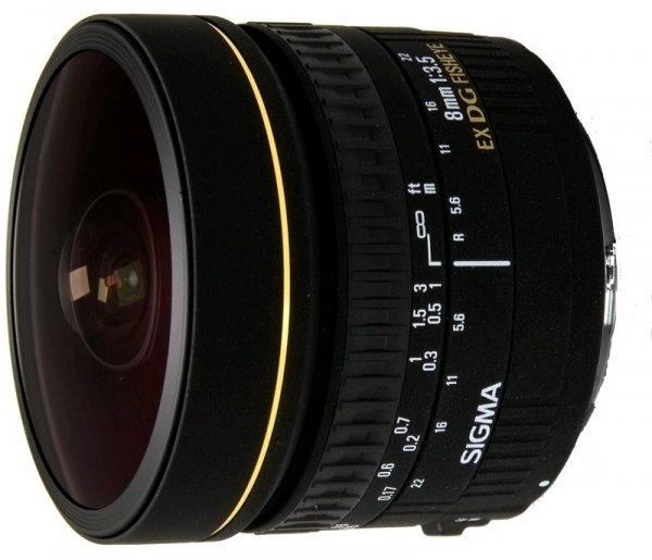 Sigma AF 8mm f/3.5 EX DG 485927