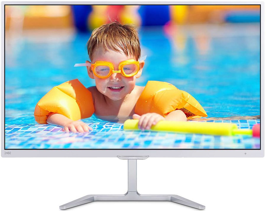 "Монитор 23.6"" Philips E-Line 246E7QDSW/00 (White)"