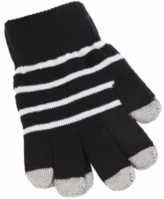 iCasemore Gloves (iCM_WhS-blk) - трикотажные перчатки (Black) icasemore gloves icm smp blk кашемировые перчатки black