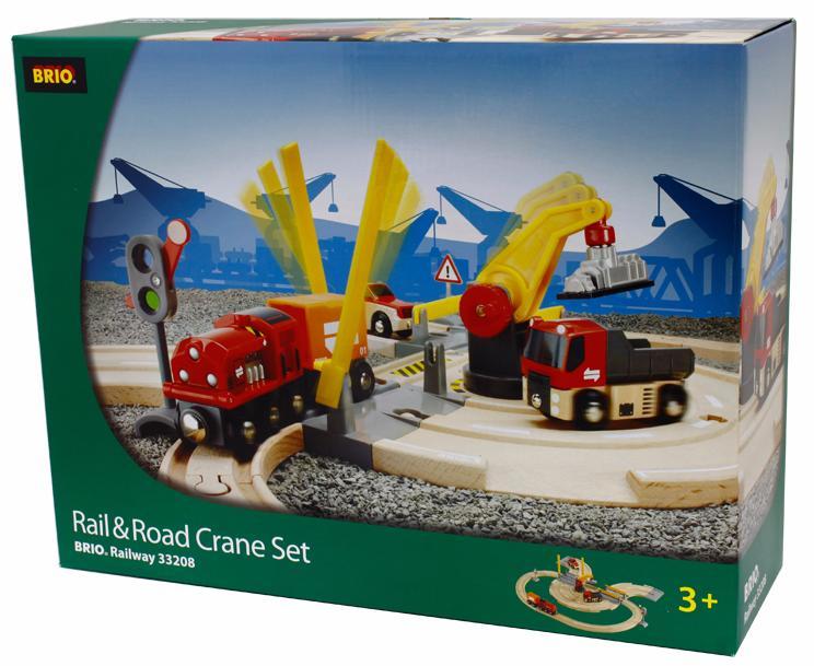 BRIO Железная дорога - переезд 26 элементов 33208