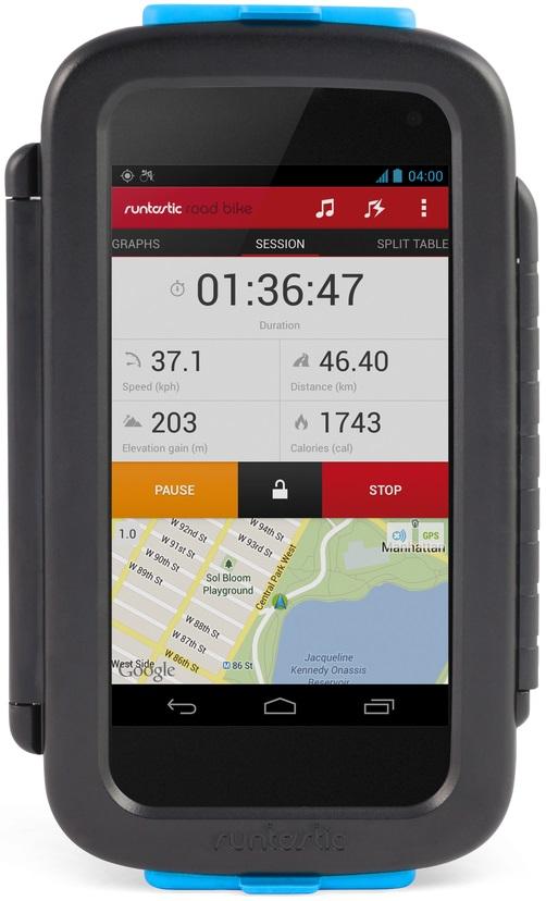 Runtastic Bike Case 2.0 - велосипедный держатель для смартфонов (Black)