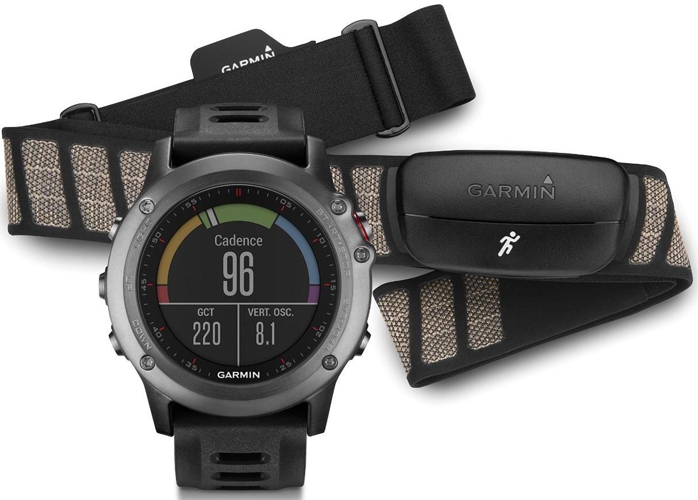 Garmin Fenix 3 Performer HRM (010-01338-11) - спортивные часы + нагрудный пульсометр (Grey)
