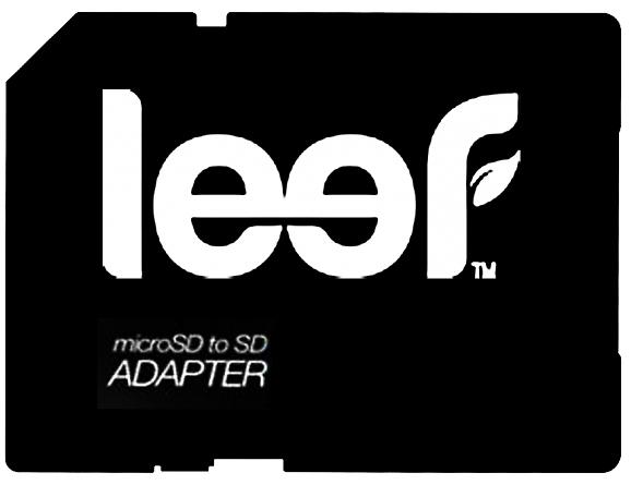 Leef microSD to SD (LFADP-00R) - адаптер для microSD (Black)