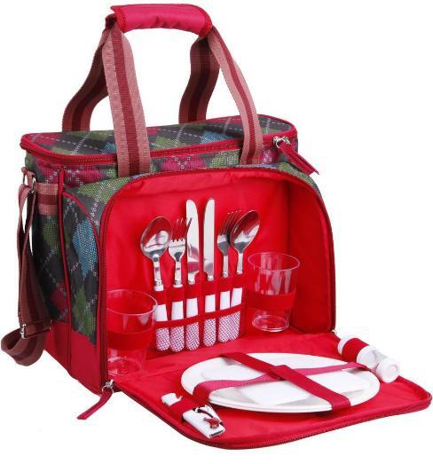 Арктика 4100-2 8.5 л - сумка-холодильник (Red)