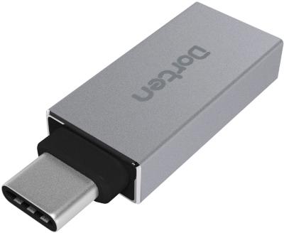 Dorten DN100403 - адаптер USB-C - USB 3.0 (Space Gray)