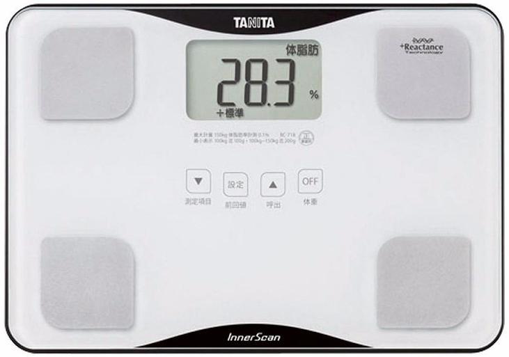 Tanita BC-718 - весы с анализатором (White)