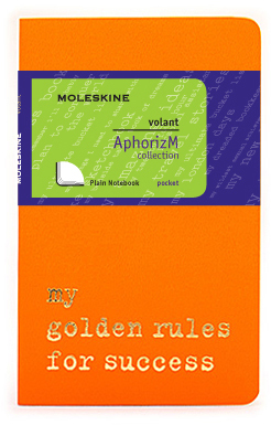 Moleskine Volant My golden rules for success QP713N/2GR