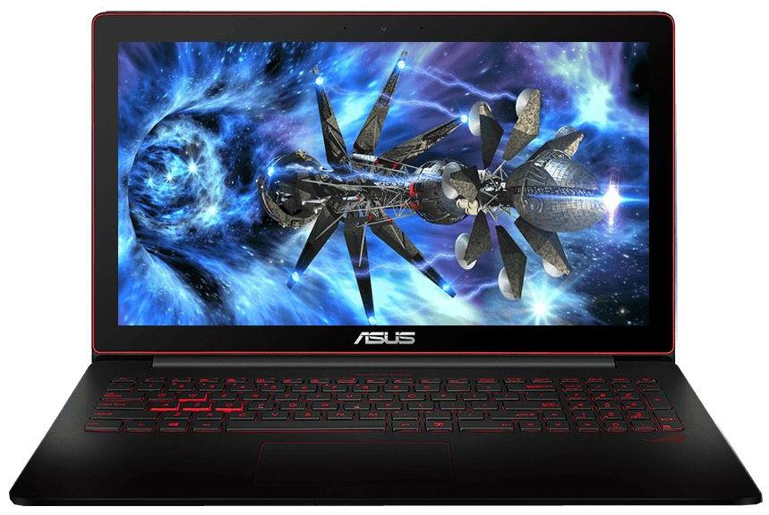 "Ноутбук Asus ROG 15.6"", Core i7 4720HQ 2.6GHz, 16Gb, 1128Gb SSD+HDD (90NB0873-M00350)"