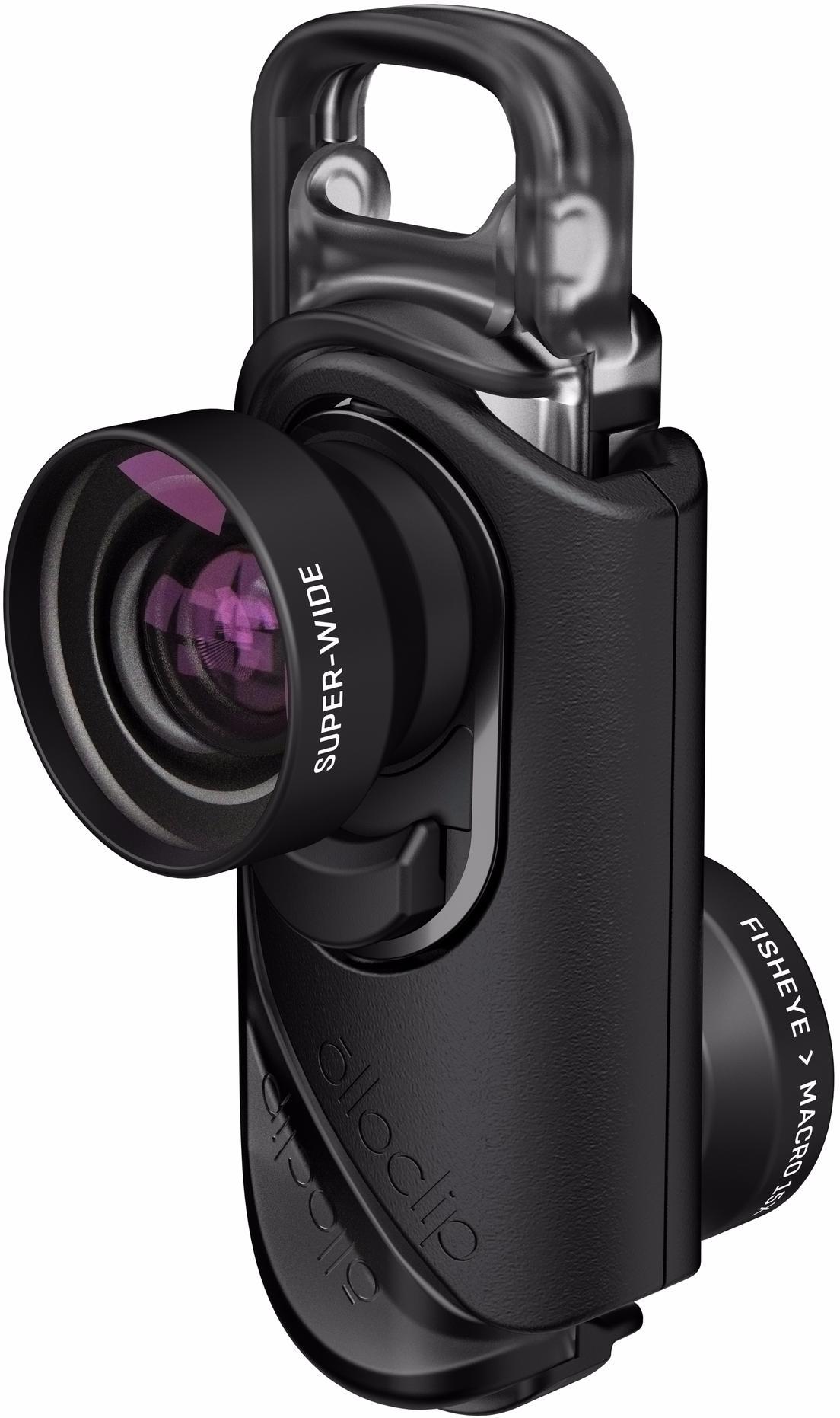 Купить Olloclip Core Lens Set (OC-0000216-EU) - комплект объективов для iPhone 7/7 Plus (Black)