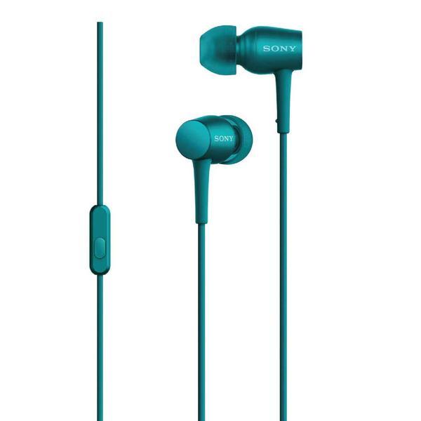 Sony MDR-EX750AP - вставные наушники с микрофоном (Viridian Blue)