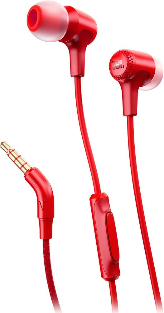 JBL E15 - внутриканальная гарнитура (Red)