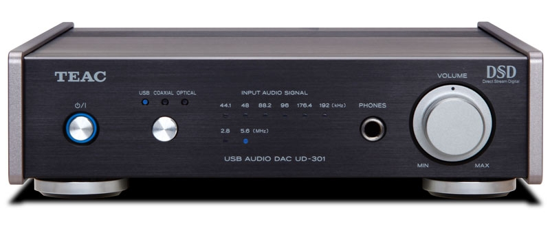 DAC with amplifier