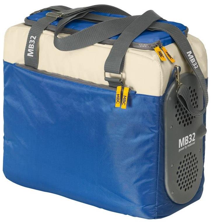 Купить Waeco Mobicool MB32 Power DC (9103500794) - автохолодильник термоэлектрический (Blue/Beige)