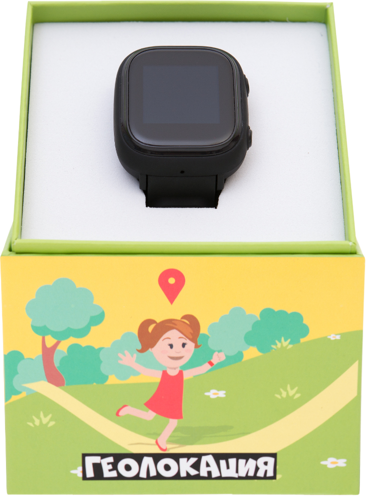 Детские умные GPS-часы EnBe Enjoy the Best Children Watch 529-BLACK (Black)