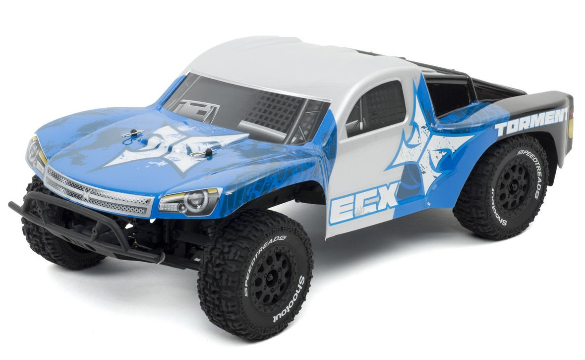 ECX Torment 1:10 - радиоуправляемый автомобиль (Grey)