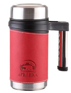 Арктика 406-500 0.5 л - термокружка (Red)