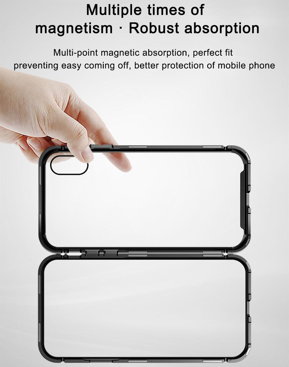 Чехол Baseus Magnetite Hardware (WIAPIPH65-CS01) для iPhone Xs Max (Black)