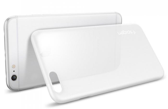 Клип-кейс Spigen Air Skin SGP11641 для iPhone 6S Plus (Transparent matte)