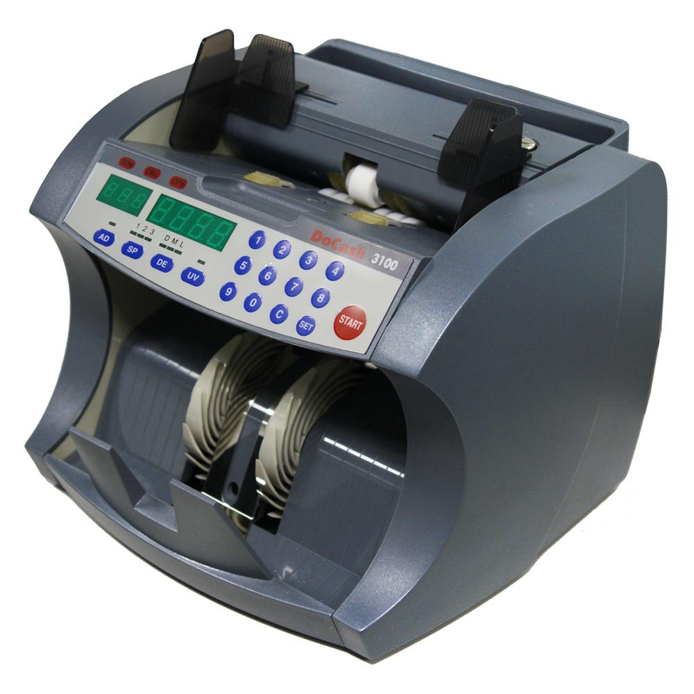 DoCash 3100 SD/UV - счетчик банкнот (Dark Gray)