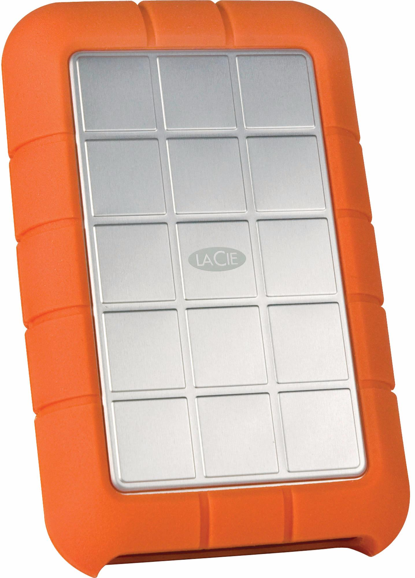 Lacie Rugged Triple 1TB FireWire 800/USB 3.0 (STEU1000400) - внешний жесткий диск (Orange)