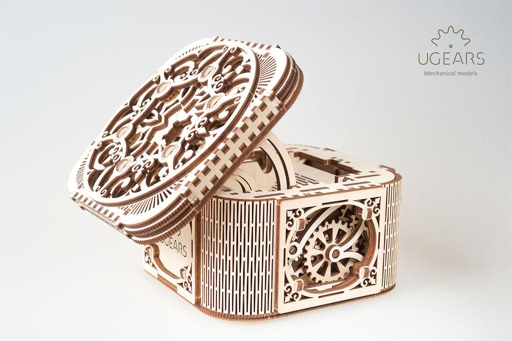 3D-пазл UGears Шкатулка с секретом