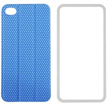 TidyTilt - чехол для iPhone 4/4S (Blue) чехол для iphone 4 iphone 4s bb mobile медведь