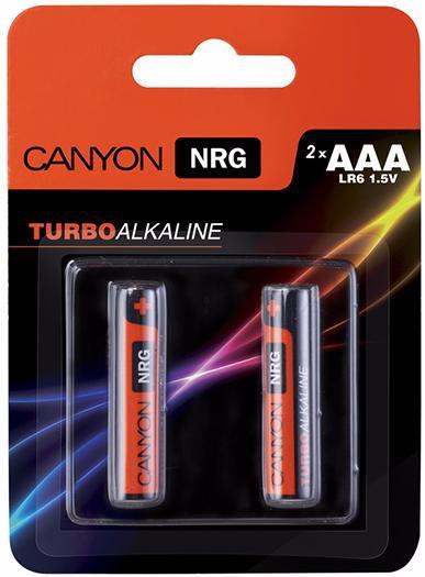 Canyon NRG AAA Battery Pack 2pcs (ALKAAA2) - комплект батареек
