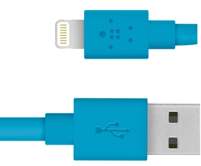 Belkin Mixit Flat Lightning to USB F8J148bt04-BLU
