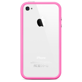 Apple iPhone 4 Bumper (Pink) MC669ZM/B