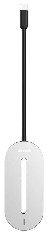 baseus Baseus O HUB Type-C Multi-function Converter - мультипереходник (Silver)