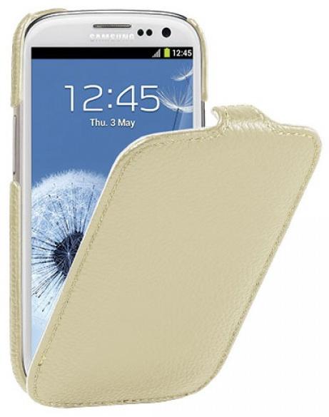 Vetti Craft Slimflip Normal Series (SGY93SFNS110113) - чехол для Samsung Galaxy S3 (Khaki)