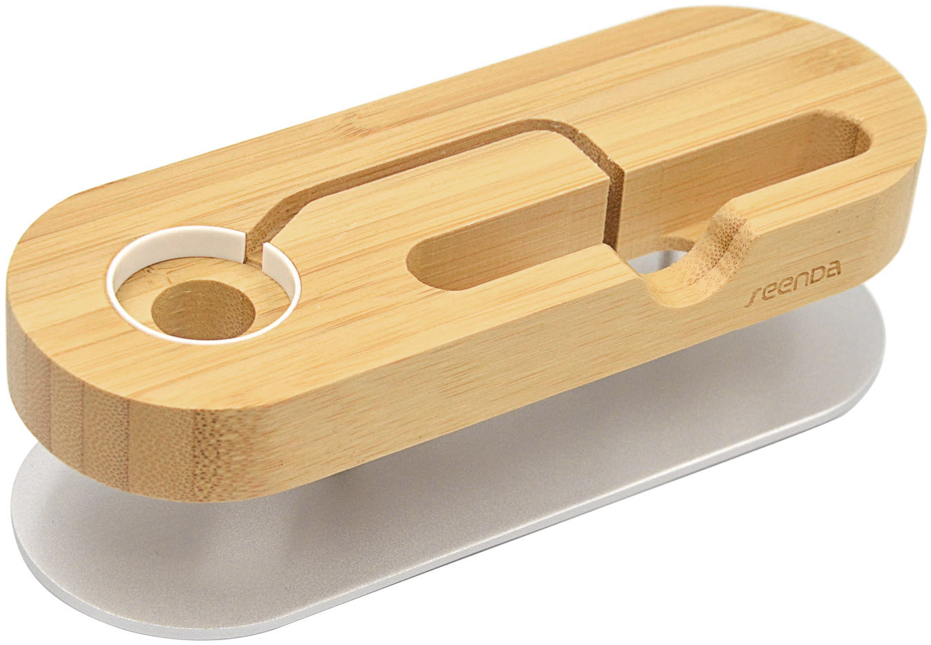 Multifunction Bamboo Wooden Stand Holder