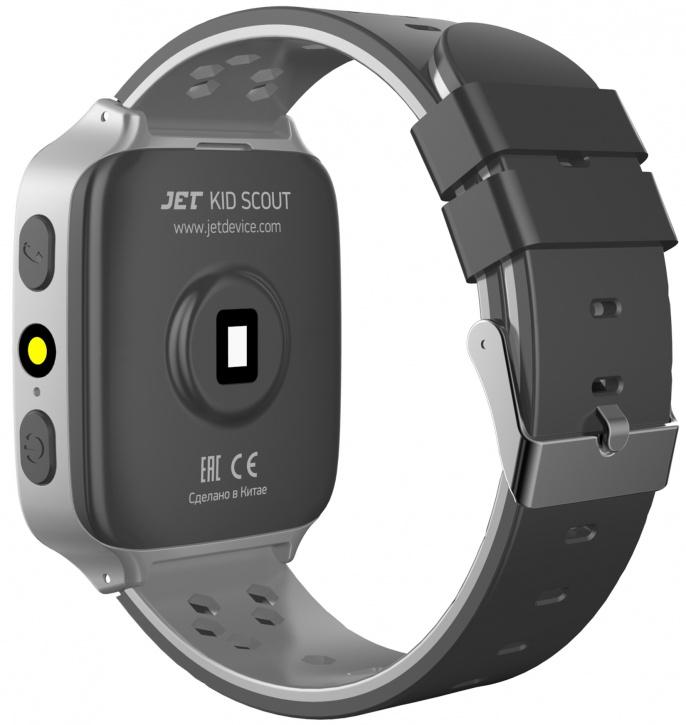 Детские умные часы Jet Kid SCOUT (Black/Grey)