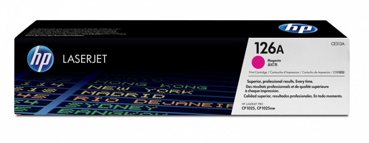 HP 126A (CE313A) - картридж для принтера HPLaserJet Pro CP1025 (Magenta)