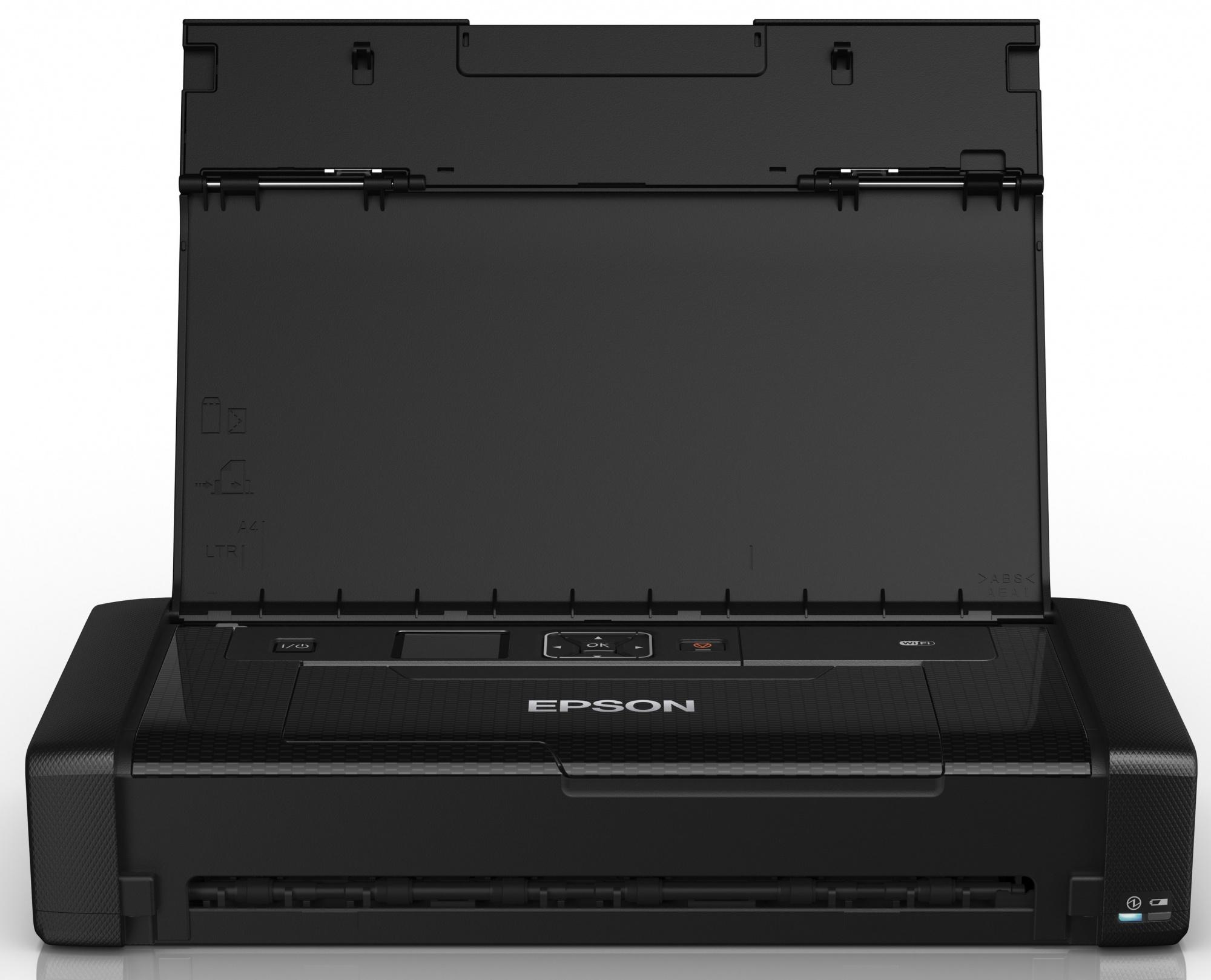Epson WorkForce WF-100W (C11CE05403) - струйный цветной принтер (Black)