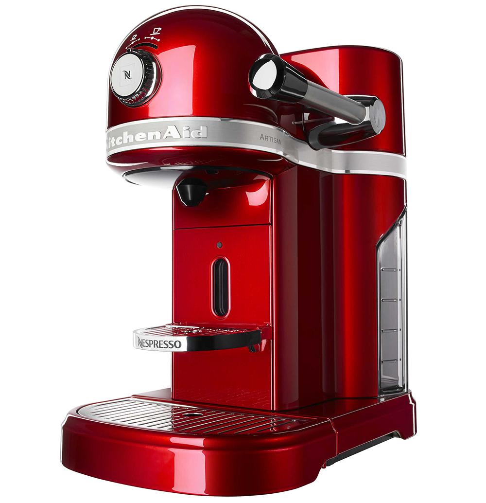 Artisan кофемашина капсульного типа nespresso kitchenaid artisan 5kes0504efp морозный жемчуг