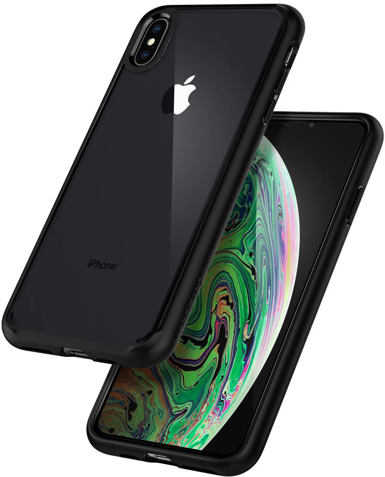 Чехол Spigen Ultra Hybrid 360 (065CS25132) для iPhone XS Max (Black)