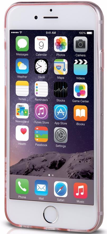 Чехол-накладка Itskins Zero Gel (APH6-ZEROG-PINK) для iPhone 6/6s (Pink)