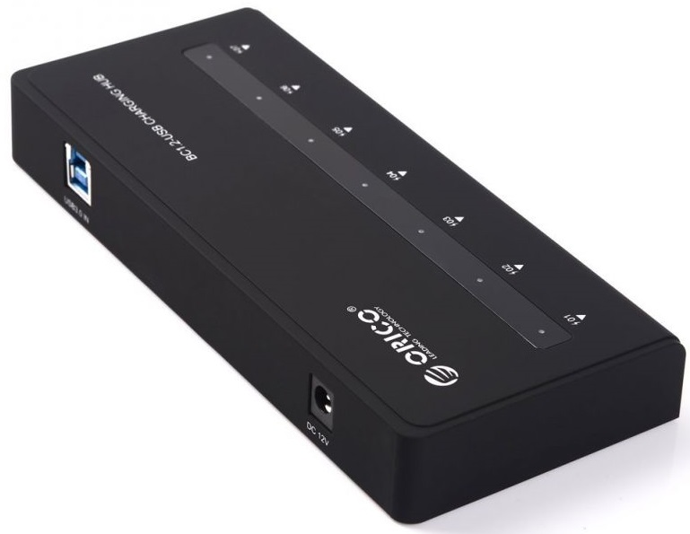 Orico H7928-U3 - USB-концентратор (Black) H7928-U3-BK