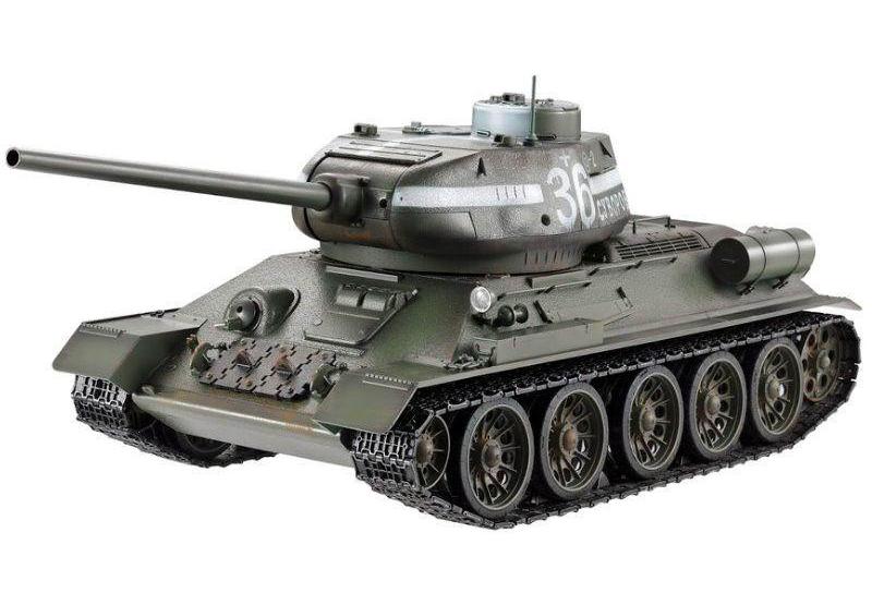 Taigen T34-85 1:16 Пневмо - радиоуправляемый танк (Green)