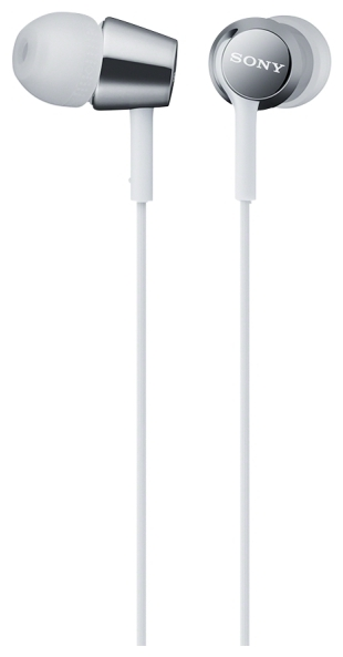 Sony MDR-EX150AP - наушники-гарнитура для смартфонов (White)