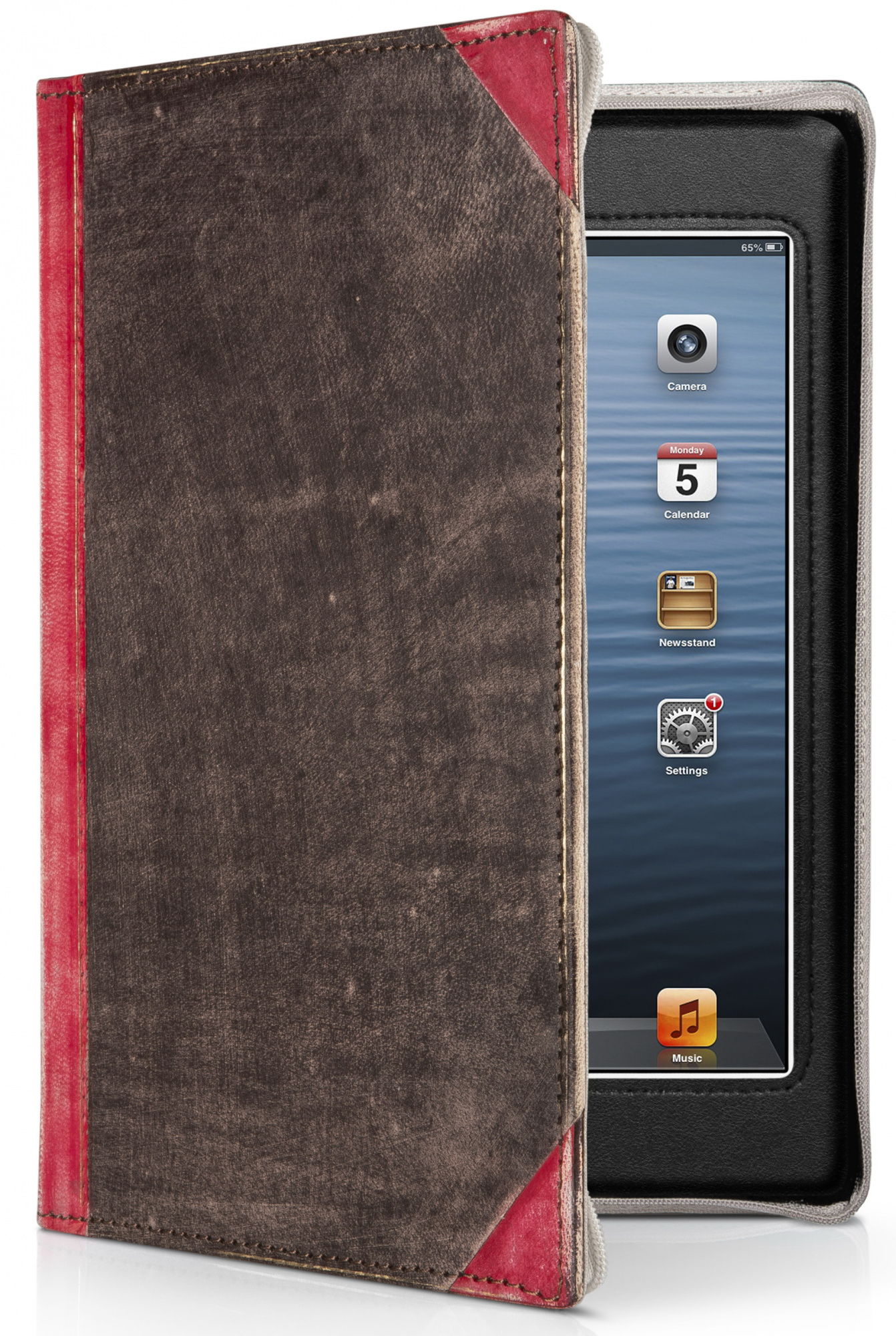 Twelve South BookBook (12-1236) – чехол для iPad mini (Red) нд