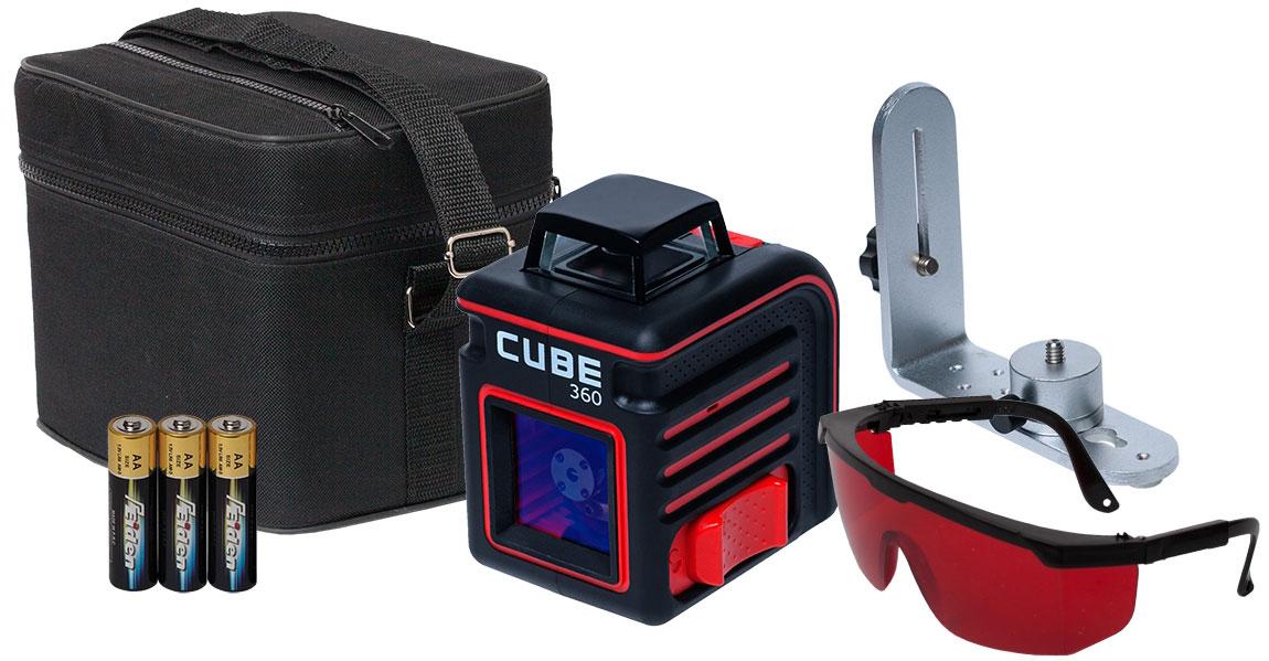 Cube 360  построитель лазерных плоскостей ada 3d liner 3v